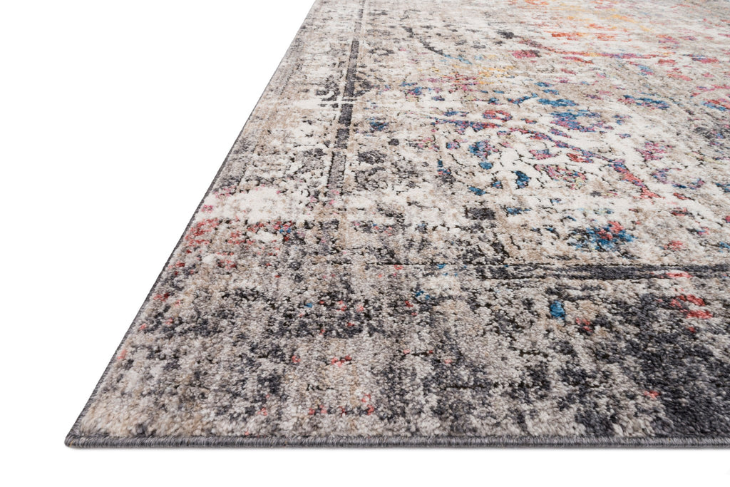 Medusa Rug in Granite & Multi by Loloi