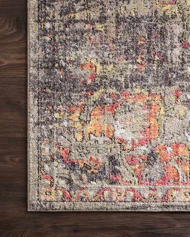 Medusa Rug in Taupe & Sunset by Loloi