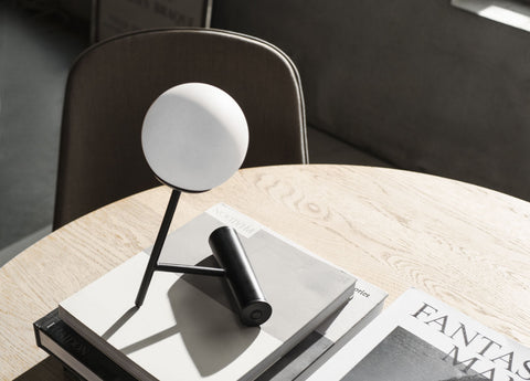 Phare Portable LED Lamp in Black design by Menu