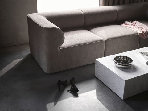 Eave Modular Sofa in Cream in Various Sizes by Menu