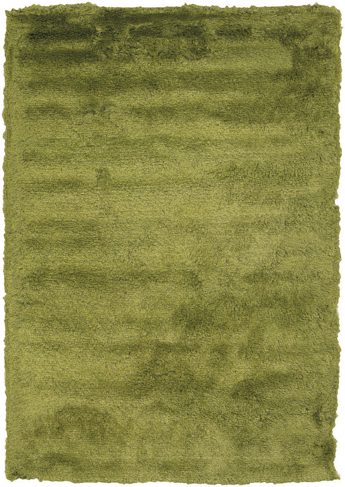 Mercury Collection Hand-Woven Area Rug in Green design by Chandra rugs