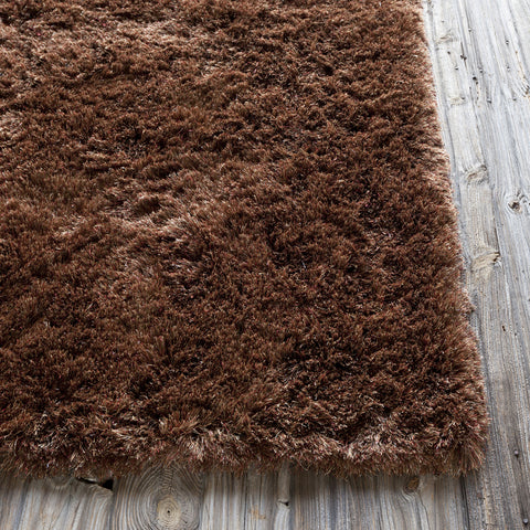 Mercury Collection Hand-Woven Area Rug in Brown design by Chandra rugs