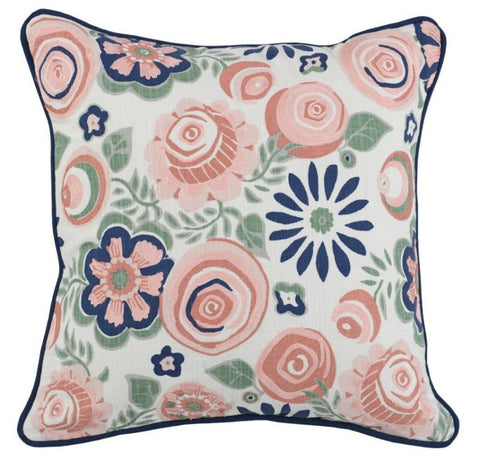 Adela Pink Multi Pillow