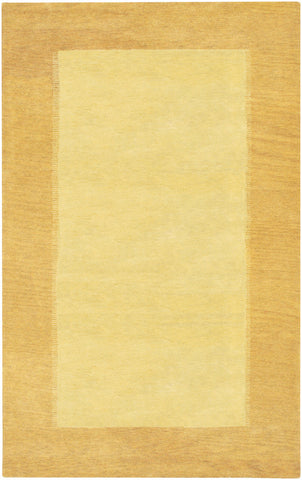 Metro Collection Hand-Tufted Area Rug in Yellow & Cream design by Chandra rugs