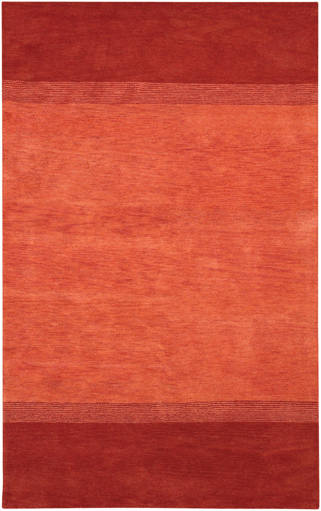 Metro Collection Hand-Tufted Area Rug in Red & Pink design by Chandra rugs