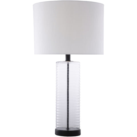 Magna MGA-002 Table Lamp in Ivory & Black by Surya