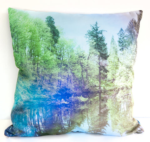 Portlandia Throw Pillow designed by elise flashman