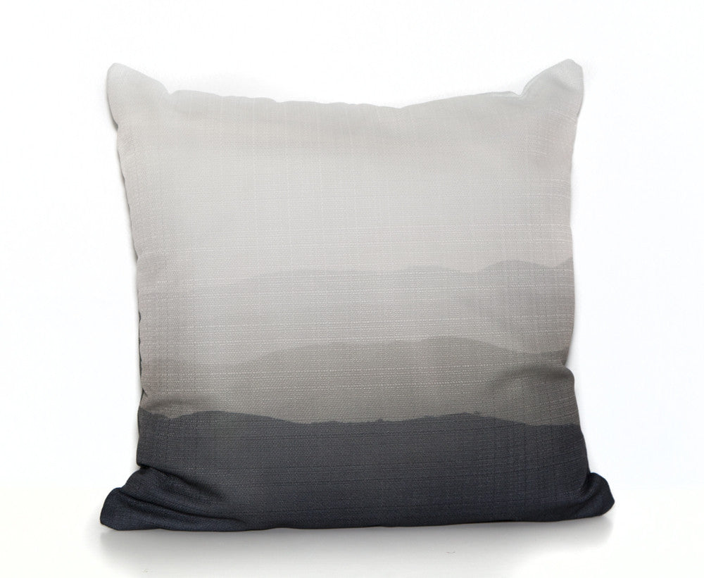 HIlls OUTDOOR Throw Pillow designed by elise flashman