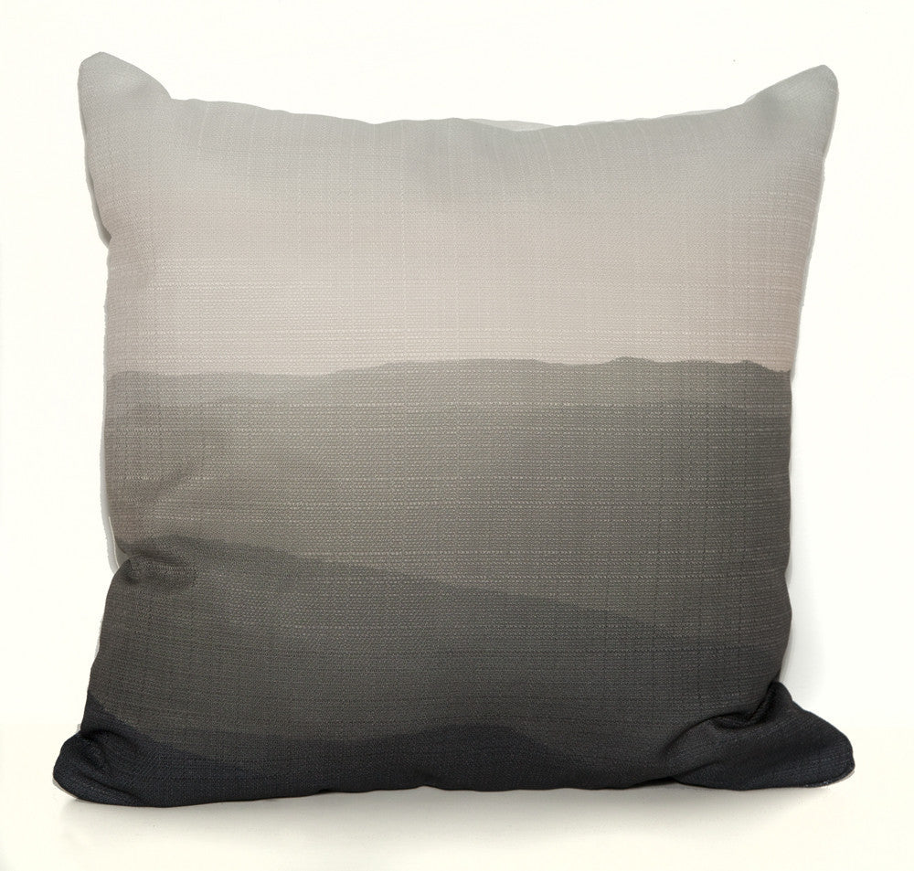 HIlls OUTDOOR Throw Pillow by elise flashman