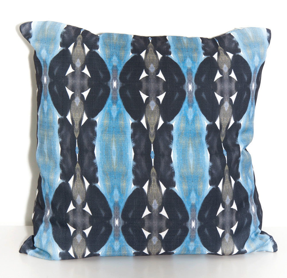 Totem Outdoor Throw Pillow designed by elise flashman