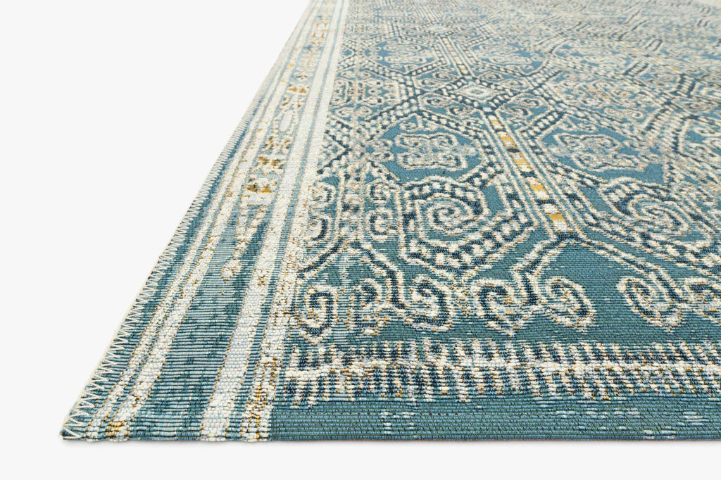 Mika Rug in Ocean by Loloi