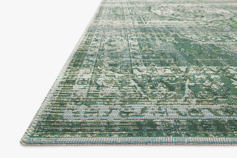 Mika Rug in Green & Mist by Loloi