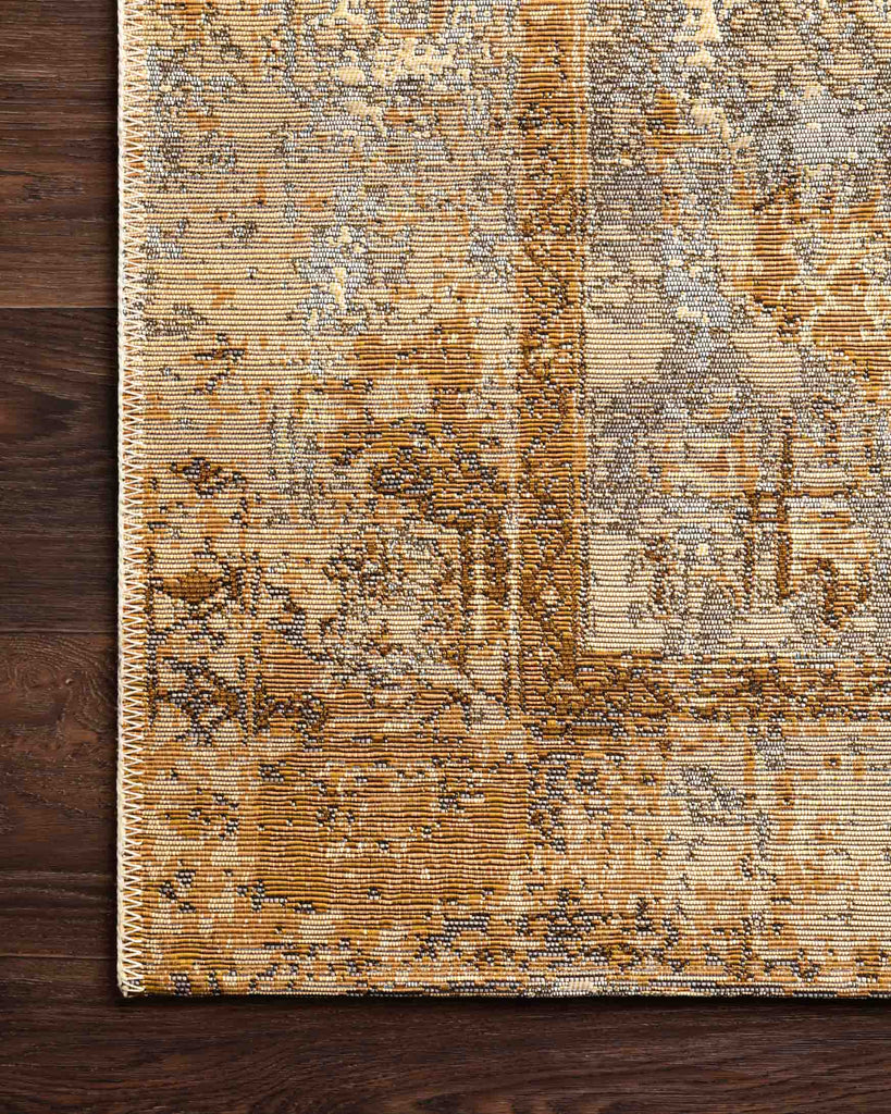 Mika Rug in Antique Ivory & Copper by Loloi