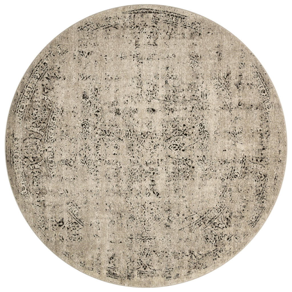 Millennium Rug in Stone & Charcoal by Loloi