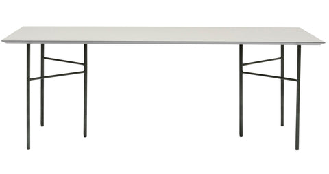 Mingle Table Top in Linoleum Light Grey design by Ferm Living