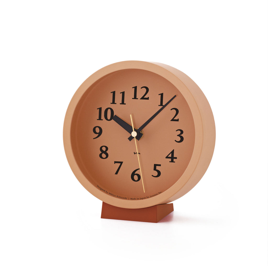 M Clock in Pink design by Lemnos