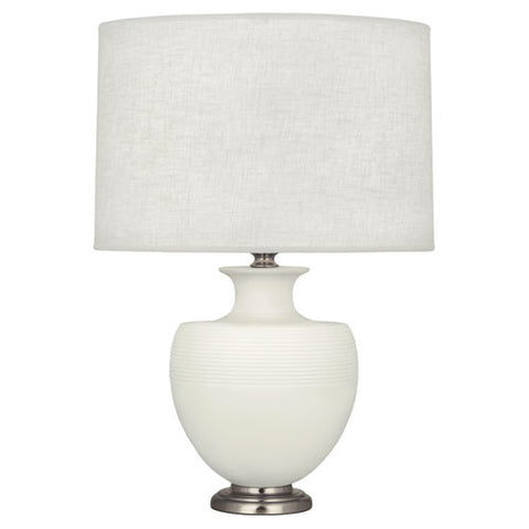 Michael Berman Atlas Matte Lily Table Lamp design by Robert Abbey