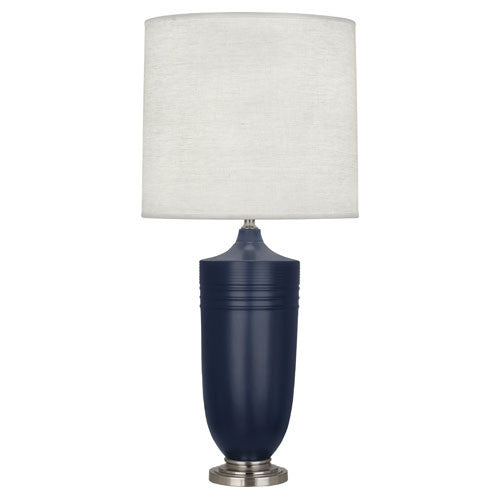 Hadrian Midnight Blue Table Lamp Design By Michael Berman