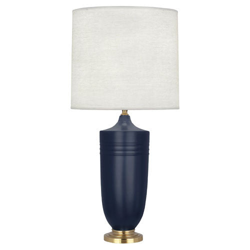 Hadrian Midnight Blue Table Lamp by Michael Berman