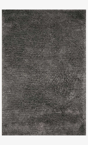 Mila Shag Rug in Charcoal by Loloi II