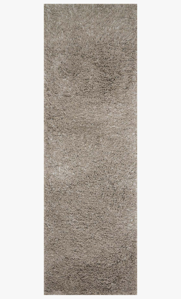 Mila Shag Rug in Taupe by Loloi II