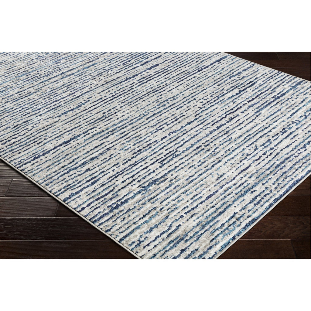 Monte Carlo MNC-2309 Rug in Navy & Sky Blue by Surya