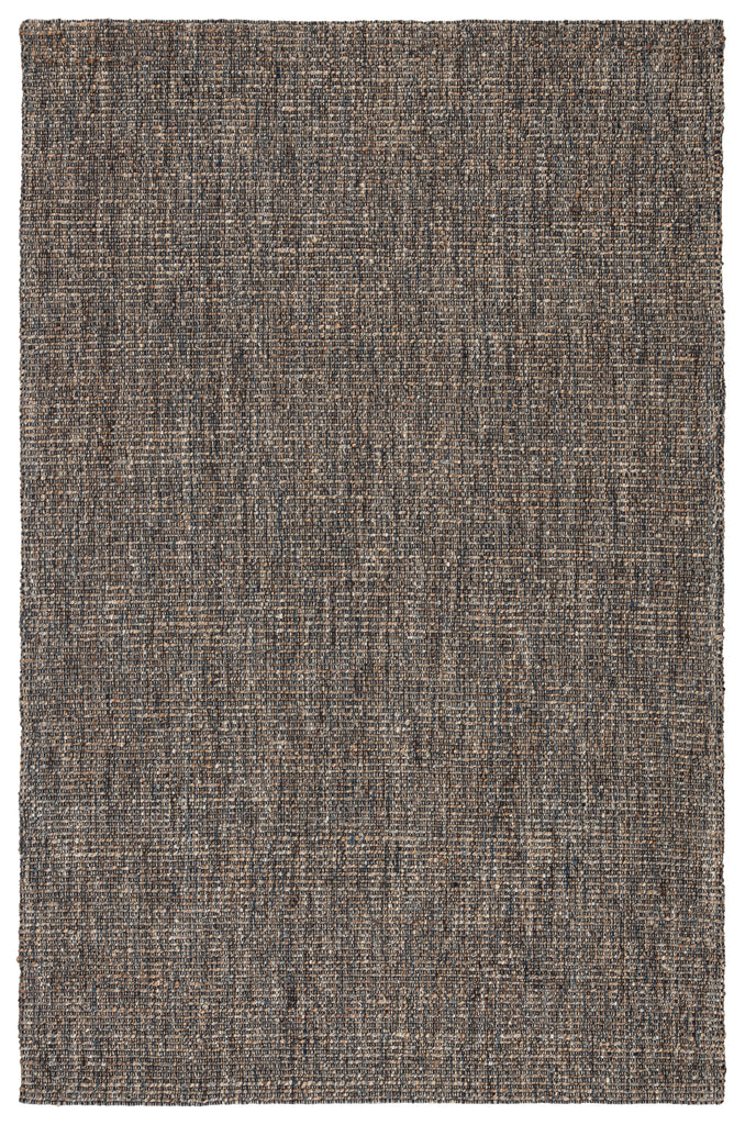 Sutton Natural Solid Gray/ Blue Rug by Jaipur Living
