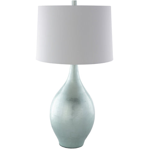 Moonstruck MSC-001 Table Lamp in Mint & Silver Gray by Surya