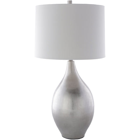 Moonstruck MSC-003 Table Lamp in Light Gray & Silver Gray by Surya