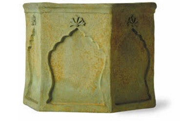Mughal Planter in Bronzage Finish design by Capital Garden Products