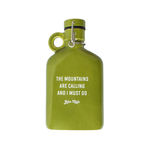 Ceramic Flask - Muir design by Izola