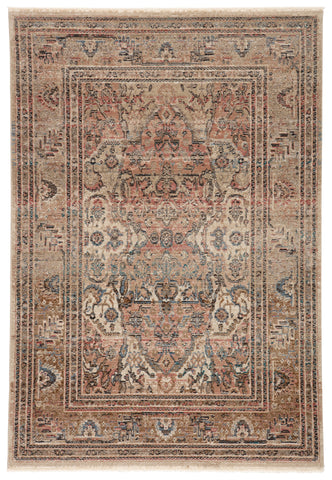 Ginia Medallion Blush & Beige Rug by Jaipur Living