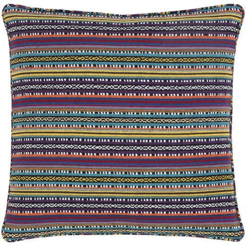 Maya MYP-003 Woven Pillow in Multi-Color by Surya