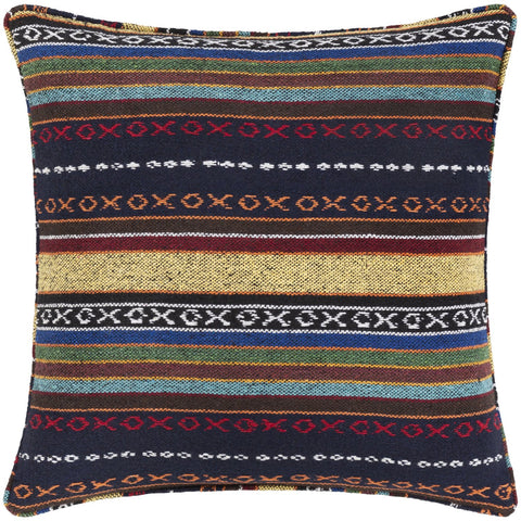 Maya MYP-004 Woven Pillow in Multi-Color by Surya