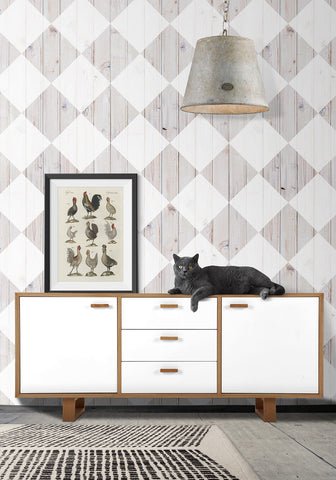 Maatila Talo Wallpaper by Ingrid + Mika for Milton & King