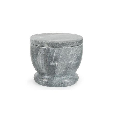 Lidded Celler in Grey Marble design by Sir/Madam