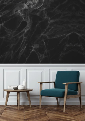 Marble Black-Grey 562 Wall Mural by KEK Amsterdam