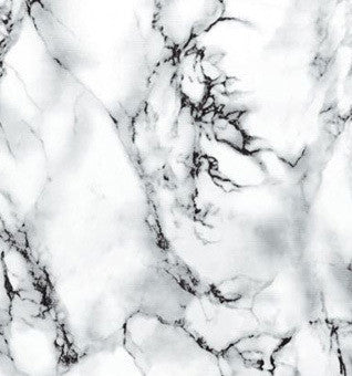 Marble Contact Wallpaper in Marmi White by Burke Decor