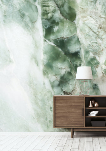 Marble Green 549 Wall Mural by KEK Amsterdam