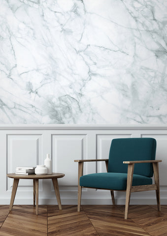Marble White-Grey 558 Wall Mural by KEK Amsterdam