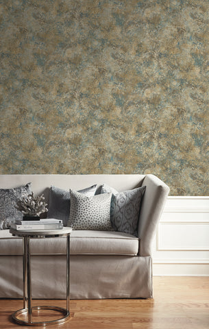 Marbled Paint Wallpaper from the Caspia Collection by Wallquest