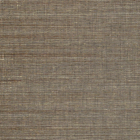 Marcin Brown Grasscloth Wallpaper from the Jade Collection by Brewster Home Fashions