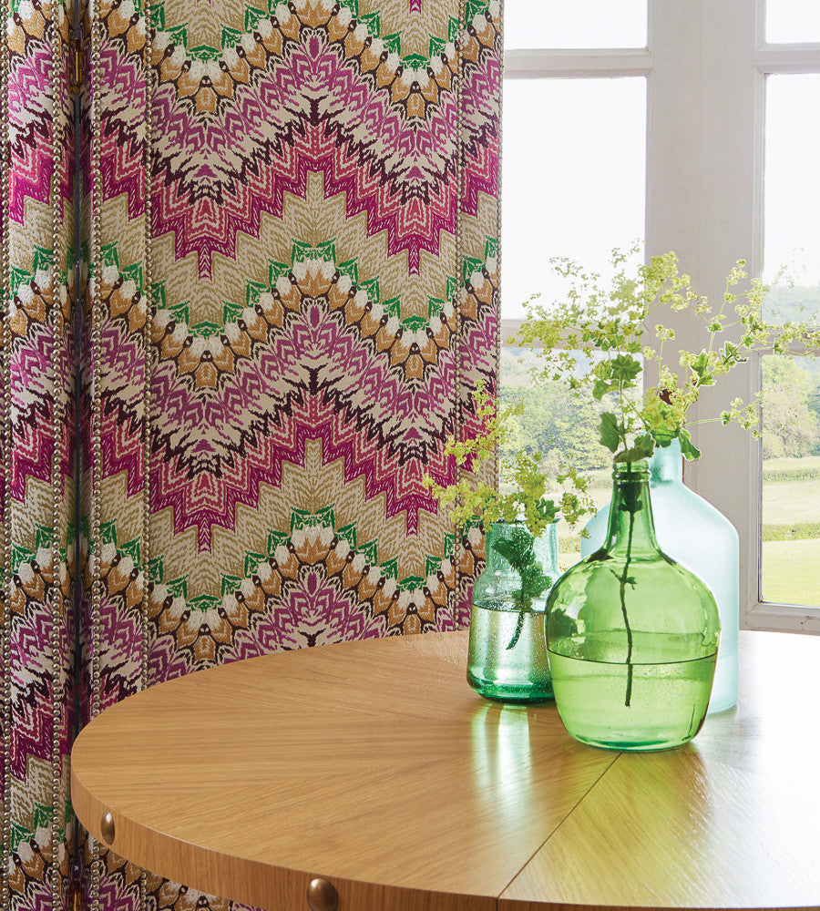 Mardis Gras Fabric by Nina Campbell for Osborne & Little