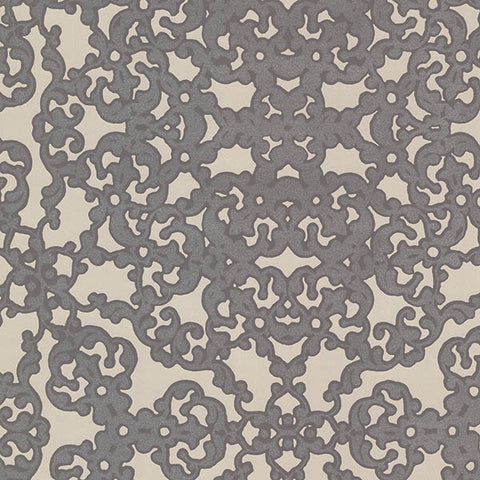 Marisol Chocolate Fractal Wallpaper from the Venue Collection by Brewster Home Fashions