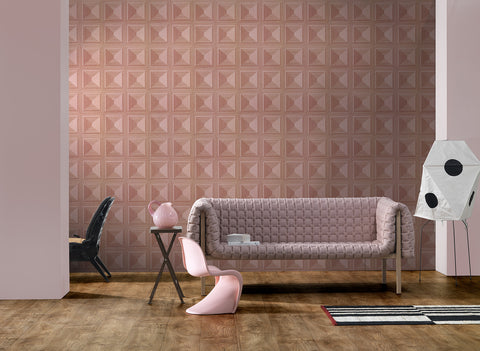 Marquetry Wallpaper by Thomas Eurlings for NLXL Lab
