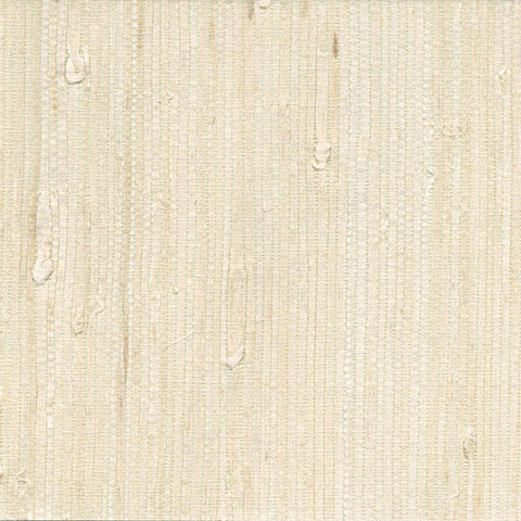 Martina White Grasscloth Wallpaper from the Jade Collection by Brewster Home Fashions