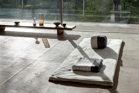 Meditation Mattress in multiple colors by The Organic Company
