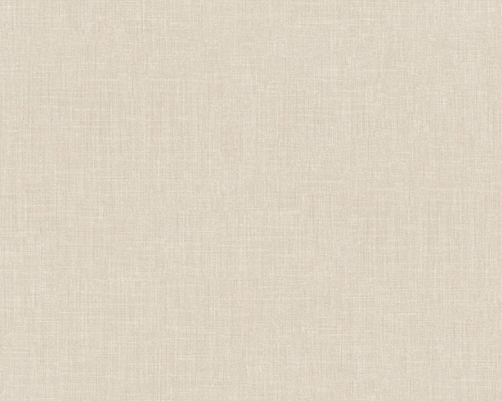Sample Meika Linen Structure Wallpaper in Cream by BD Wall