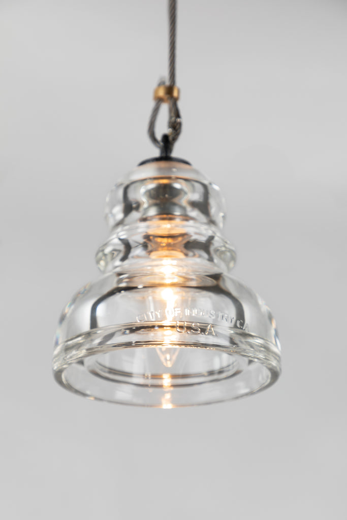Menlo Park Mini Pendant in Various Finishes by Troy Lighting