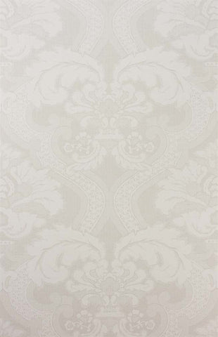 Meredith Wallpaper in Pearl and Ivory by Nina Campbell for Osborne & Little